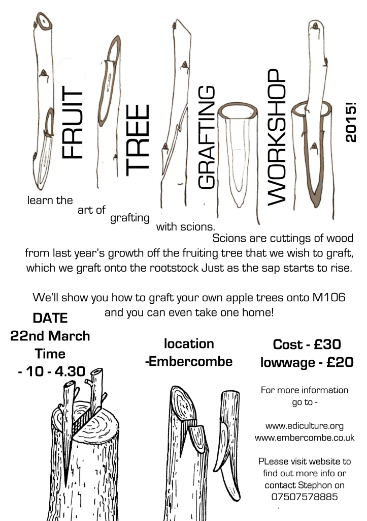 Grafting poster (embercombe)